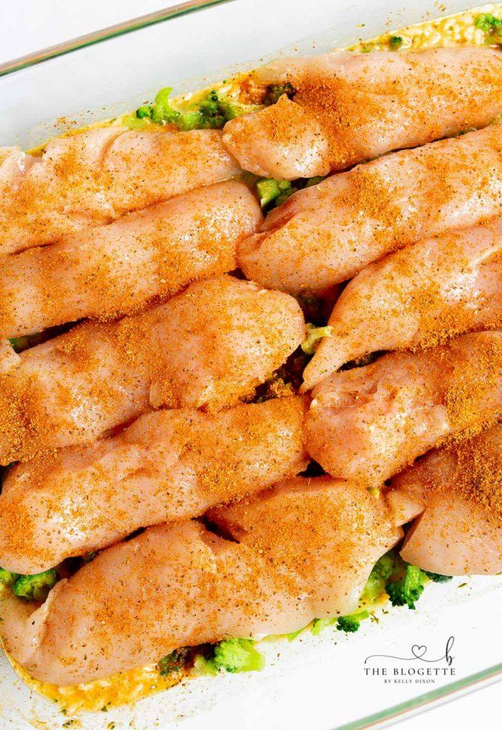 Broccoli Cheese Casserole with Chicken