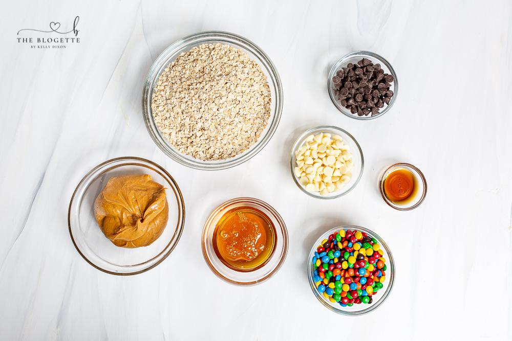Cookie Balls Ingredients