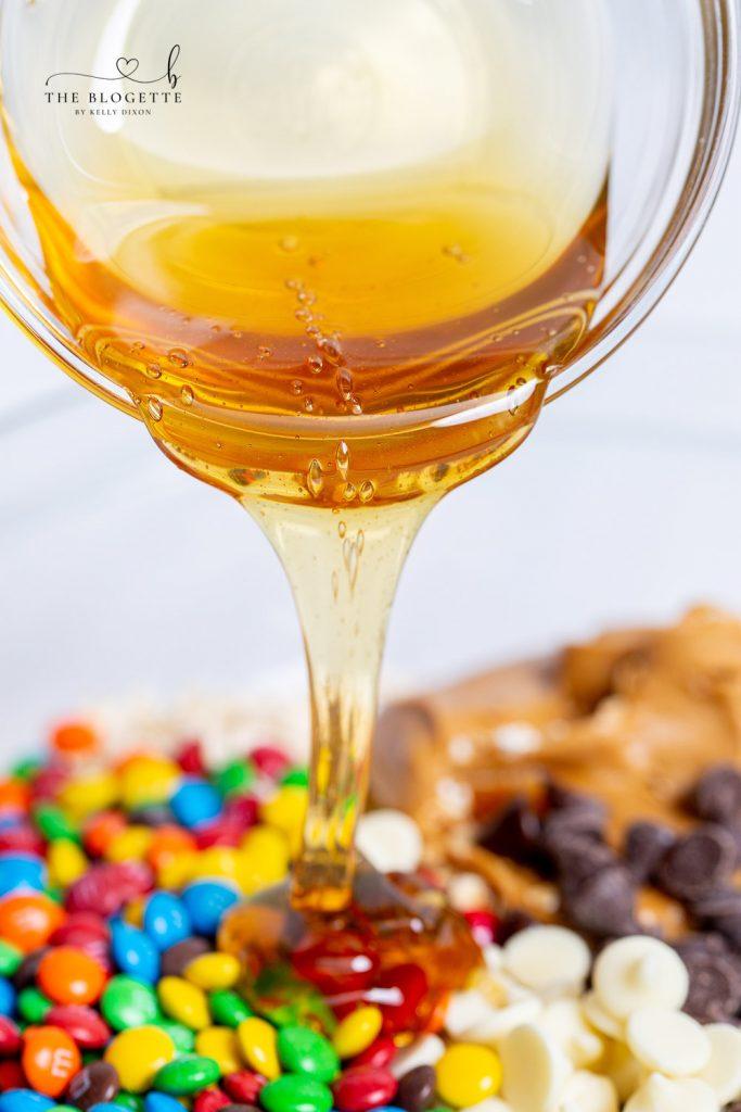 Cookie Balls with Honey