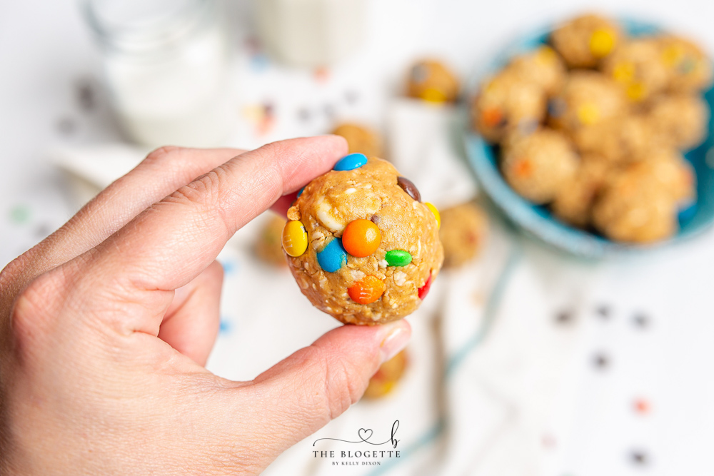 How to Make Monster Cookie Balls