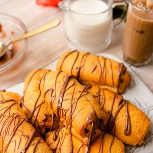 Crescent Roll Chocolate Croissants are delicious and cost much less than a bakery!