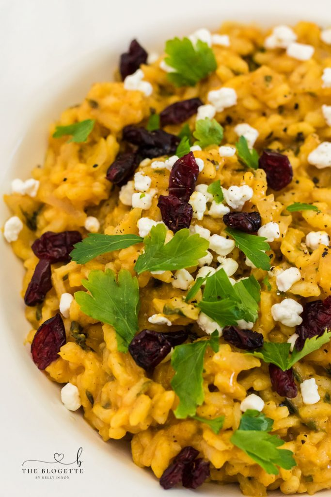 How to Make Pumpkin Risotto
